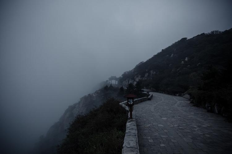 taishan in china heilige berg