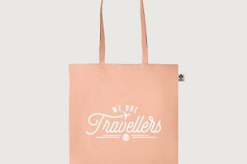 tas WeAreTravellers roze