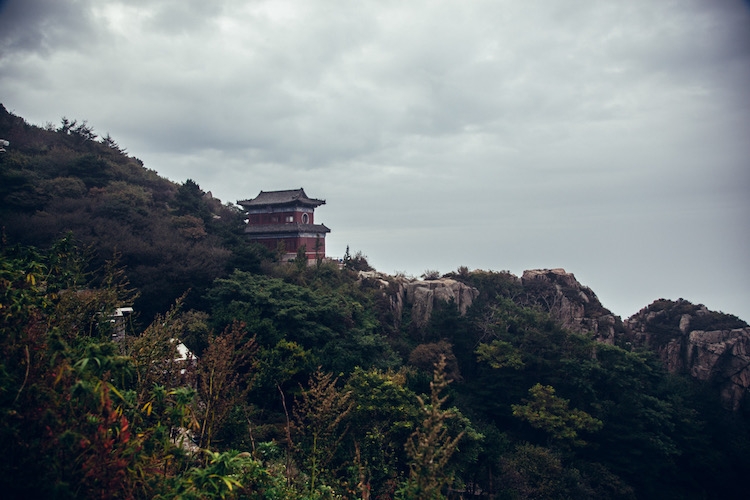 tempels op taishan china