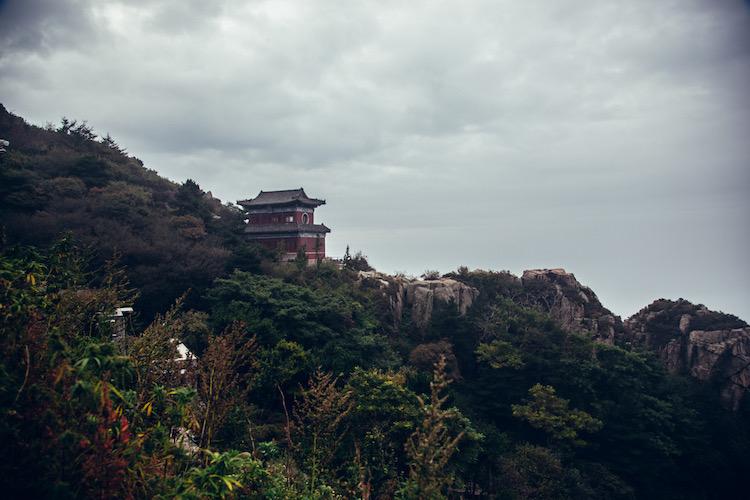 tempels op taishan china