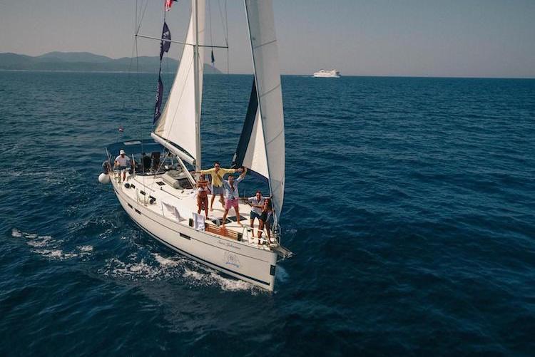 the sail trip eilandhoppen kroatie