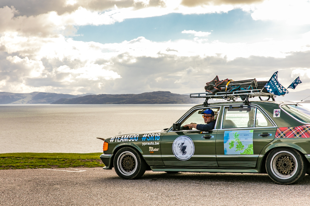 the scotland rally in schotland
