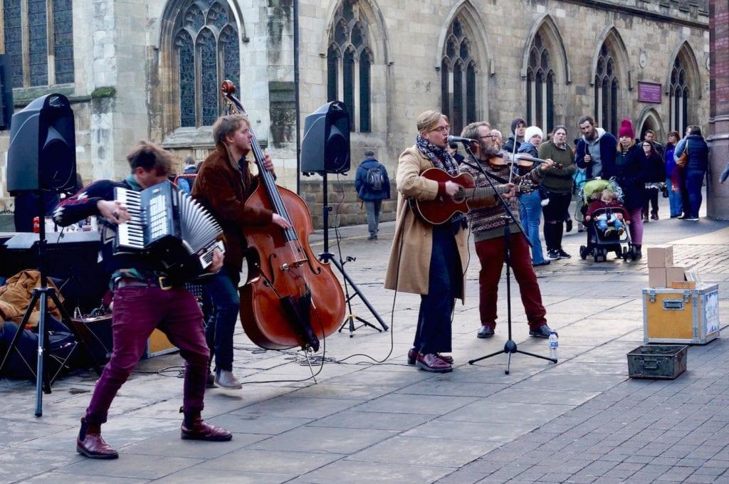 the shambles York binnenstad optreden