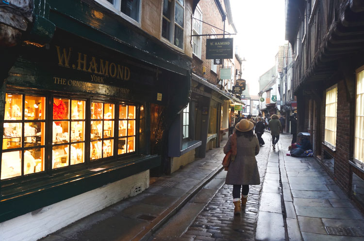 the shambles York harry potter