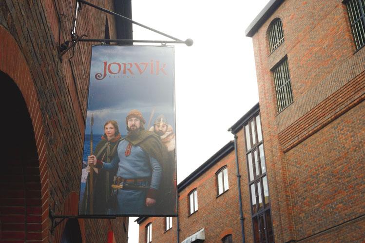 the shambles York viking museum