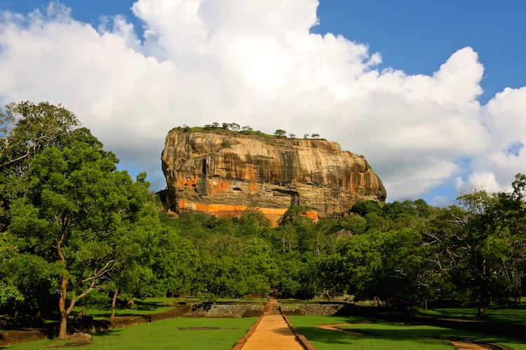 the tuk tuk trip in sri lanka sigiriya rock