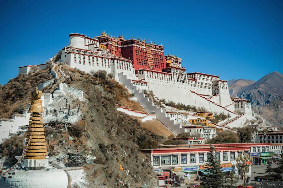 tibet backpacken reis tim