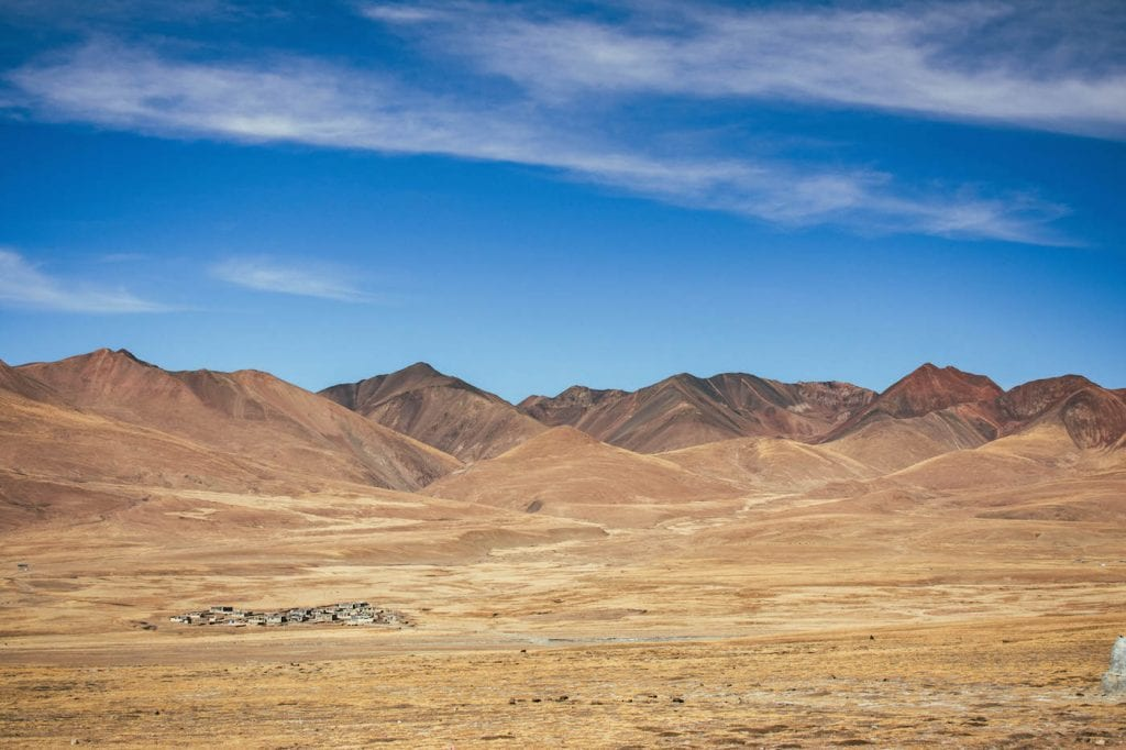 tibet landschappen backpacken route tips