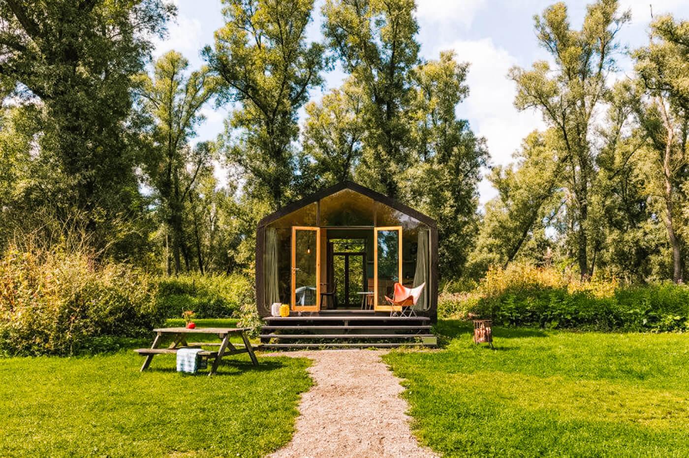 _tiny house nederland Natuurhuisje Dordrecht