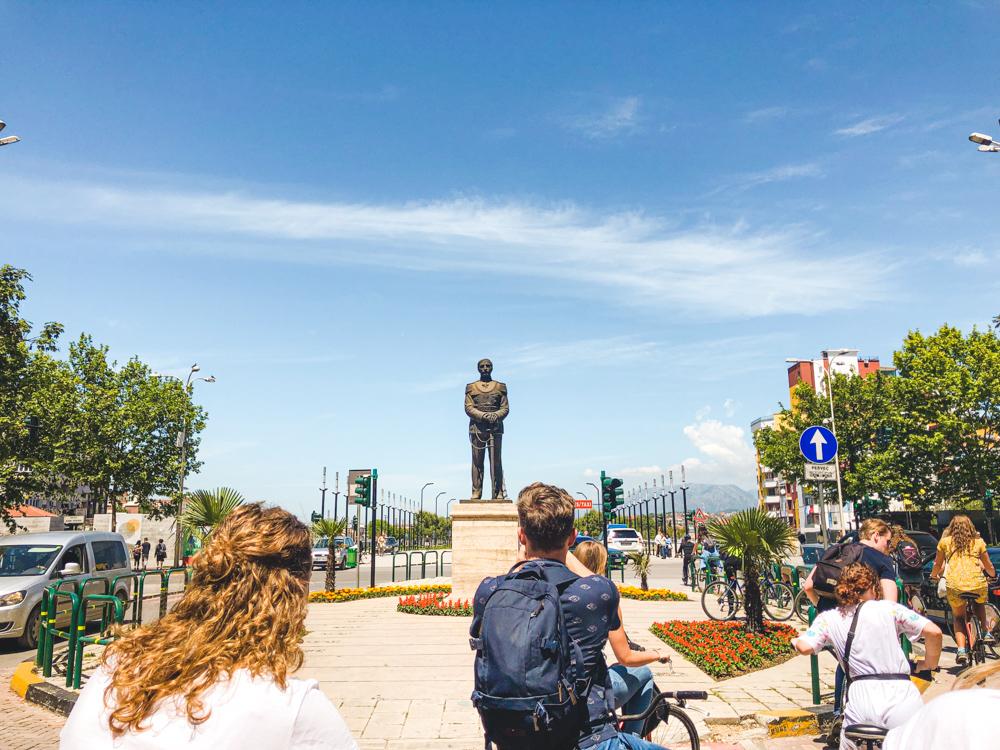 Tirana fietstour Albanie rondreis