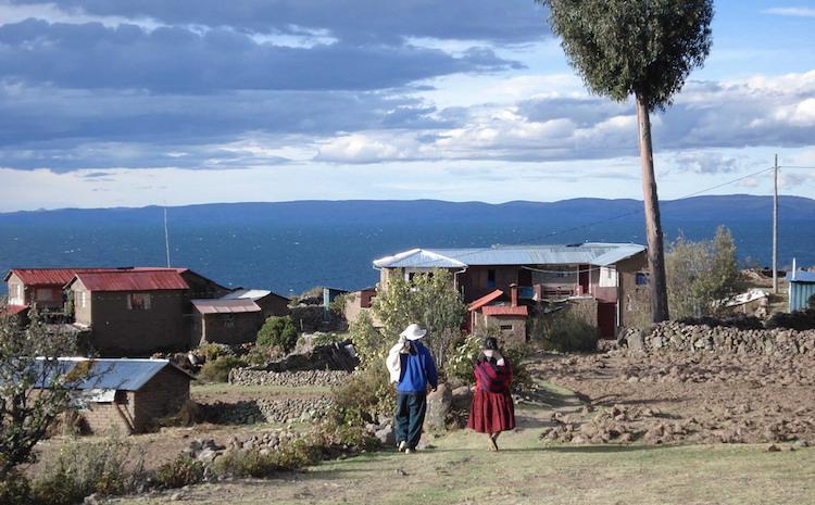 titicaca meer uros eilanden peru