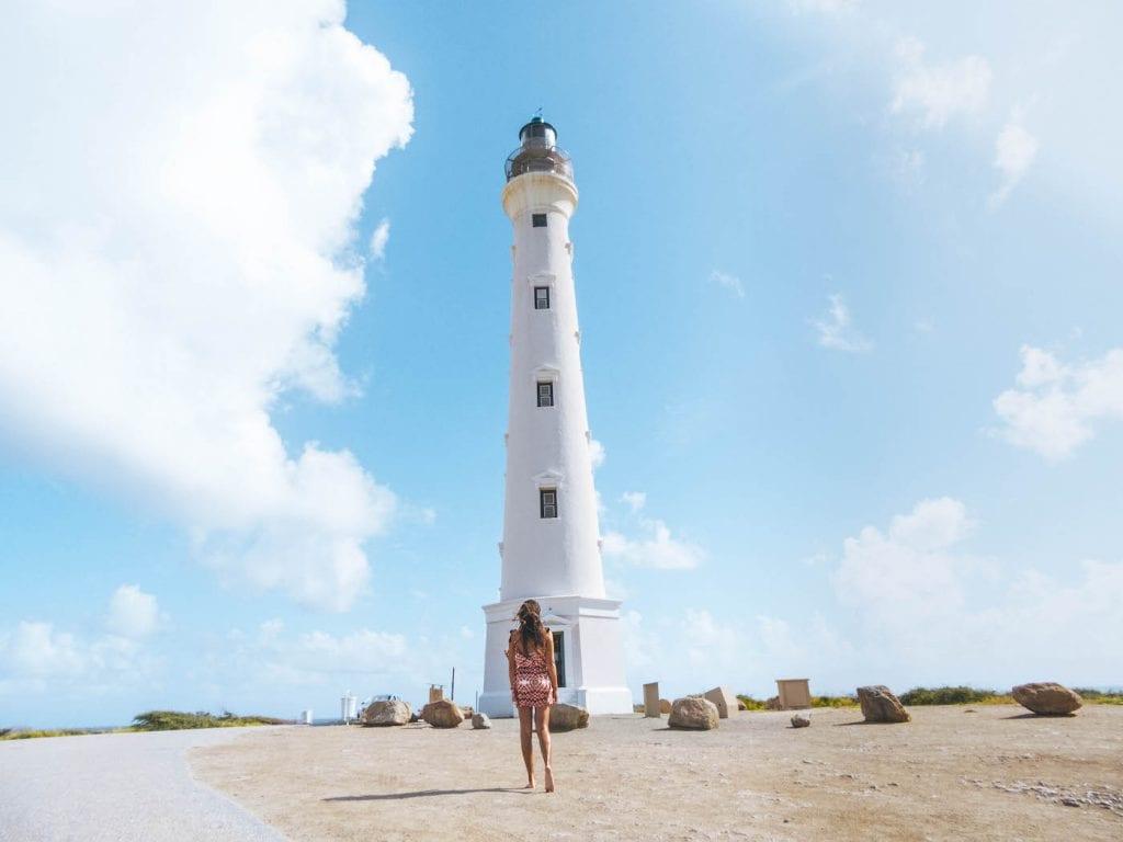 to do aruba California Lighthouse