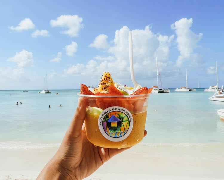 to do aruba Eduardo's Beach Shack