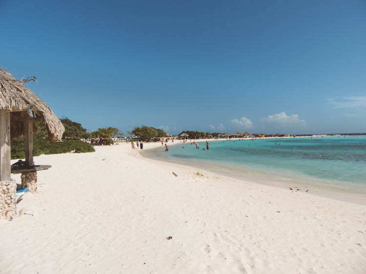 to do aruba baby beach