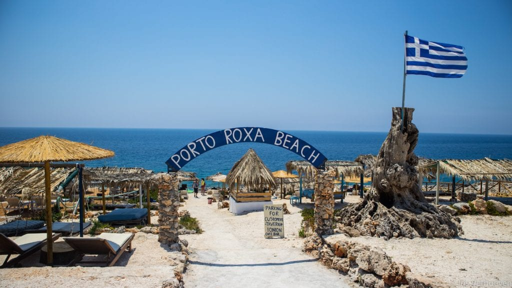 top 10 bezienswaardigheden zakynthos Porto Roxa