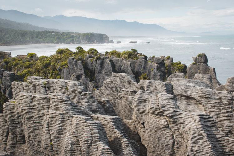 top 10 nieuw zeeland zuidereiland Punakaiki rotsen