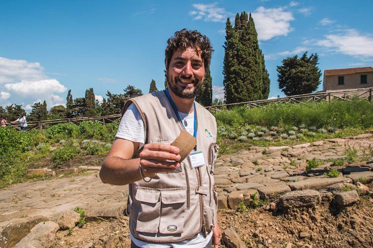 toscane route Populonia Archeologisch Park Flavio