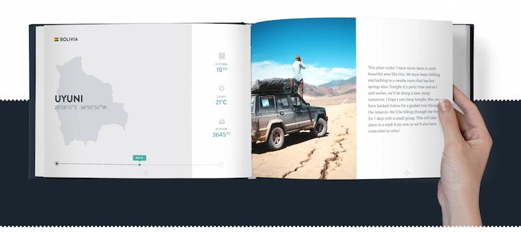 travelbook van polarsteps