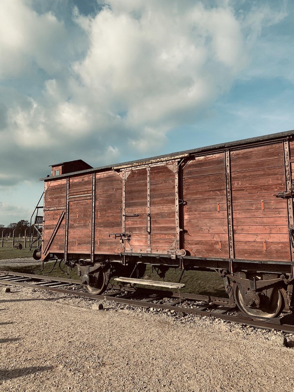 trein naar Auschwitz-Birkenau