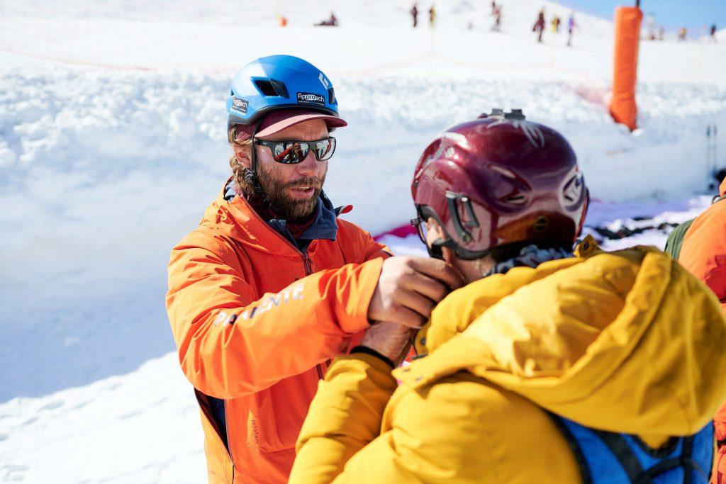 trein wintersport frankrijk paragliden