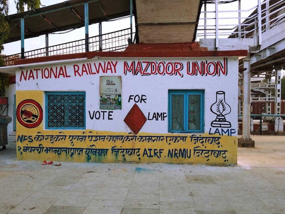 treinstation treinreizen india