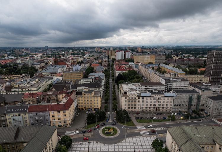 tsjechië ostrava uitzicht