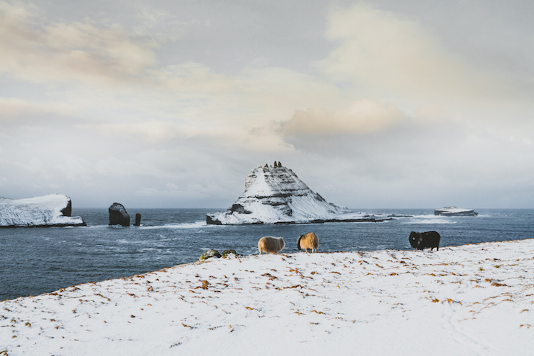uitzicht Faroer Eilanden