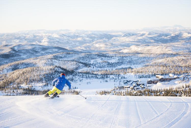 uitzicht Norefjell noorwegen wintersport