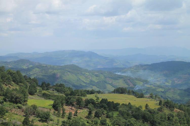 uitzicht nicaragua backpack route