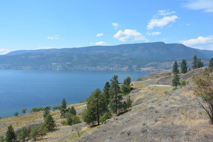 uitzicht west canada kelowna