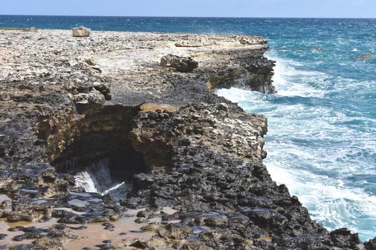 vakantie Antigua and Barbuda devil's bridge