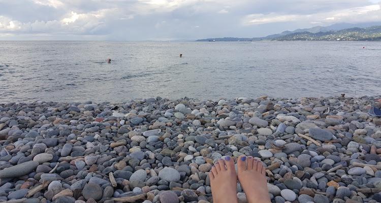vakantie Batoemi georgie strand