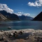 vakantie Groenland rondreis boot met tasermiut camp