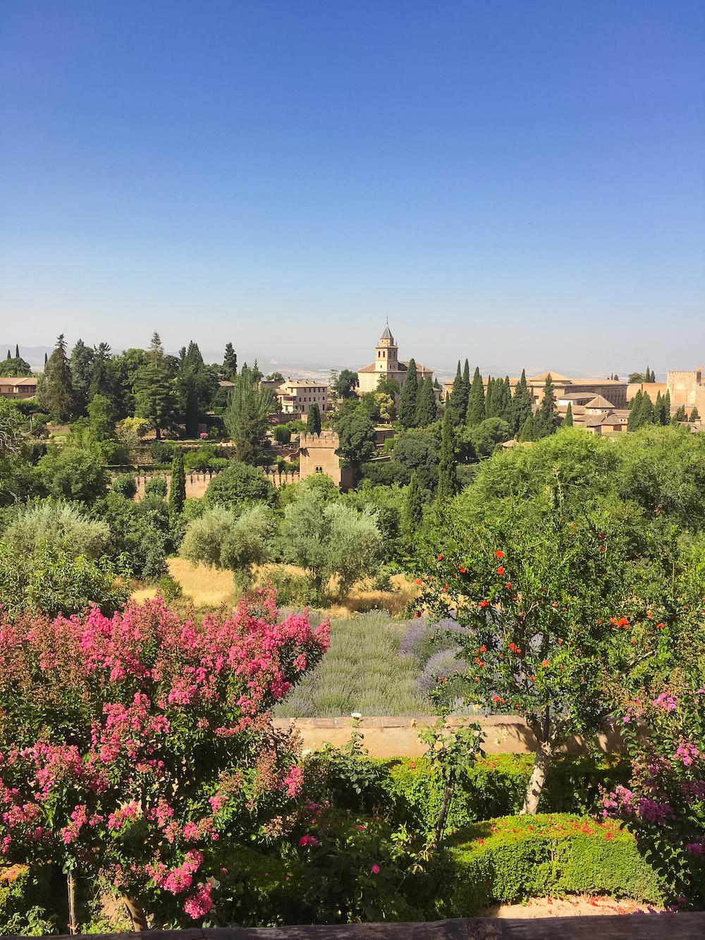vakantie andalusie alhambra granada
