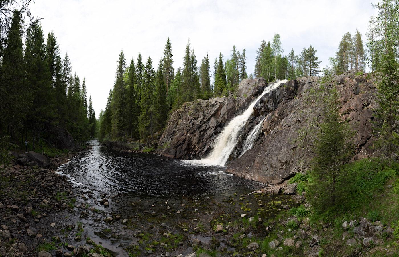 vakantie finland hepokongas waterfall