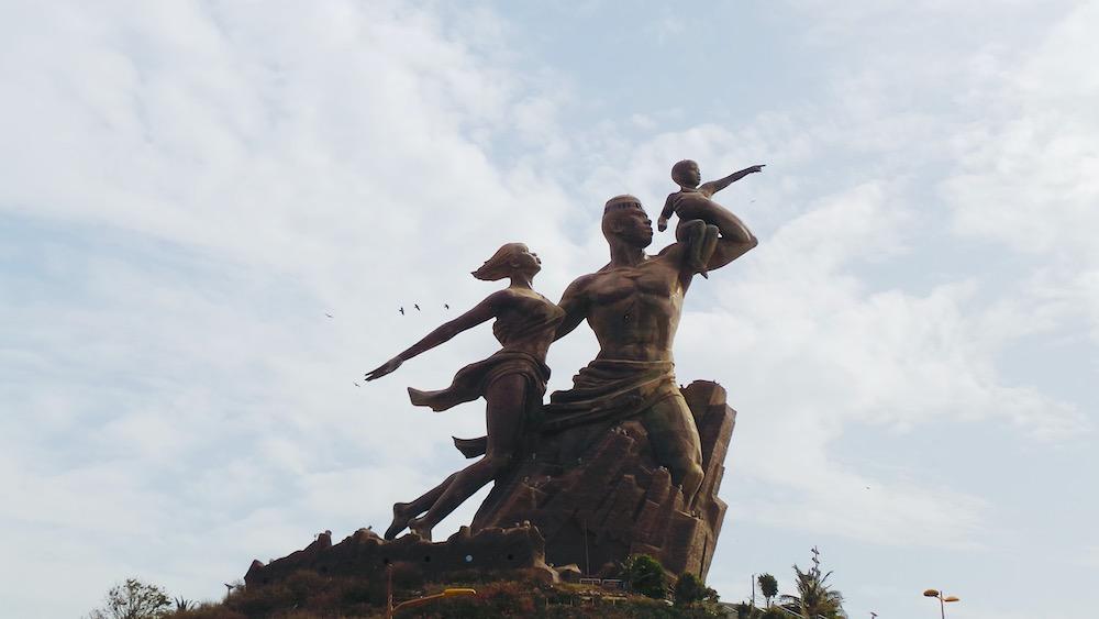 vakantie senegal Dakar monument