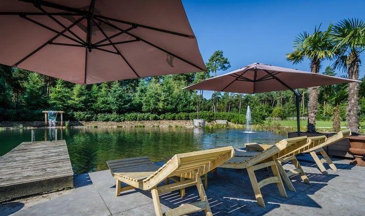 vakantiehuis met jacuzzi zwemmeer