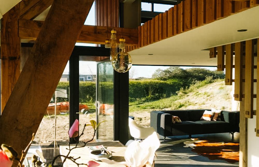 vakantiehuis met sauna aan zee