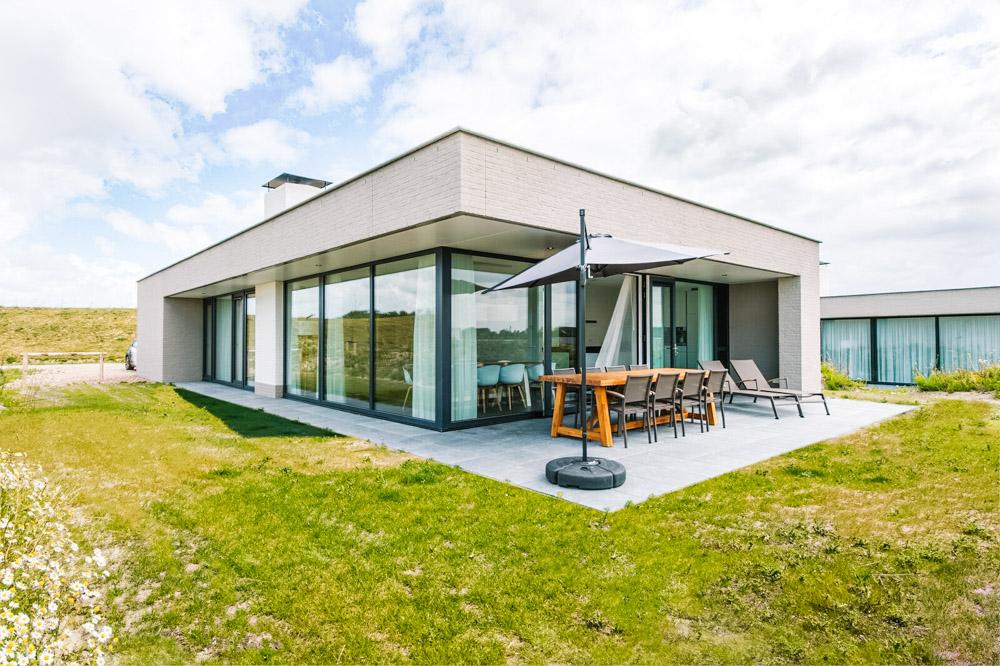 vakantiehuisje aan zee nederland ZANDVILLAS