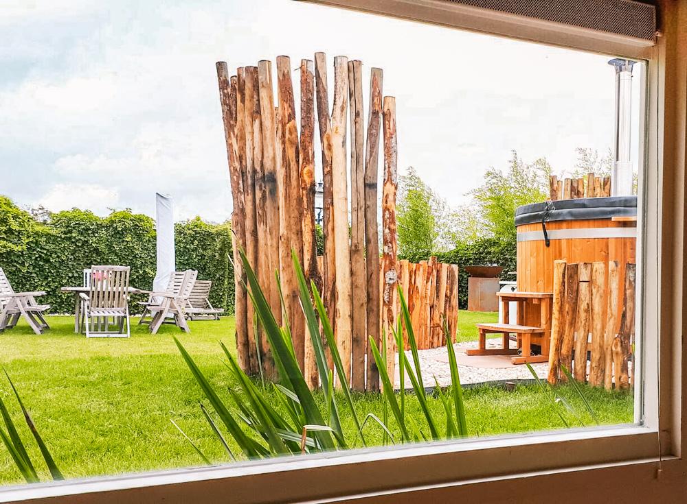 vakantiehuisje met jacuzzi en sauna pura vida