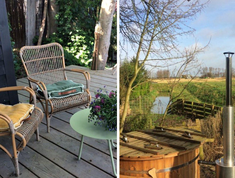 vakantiehuisje met jacuzzi nederland noord holland