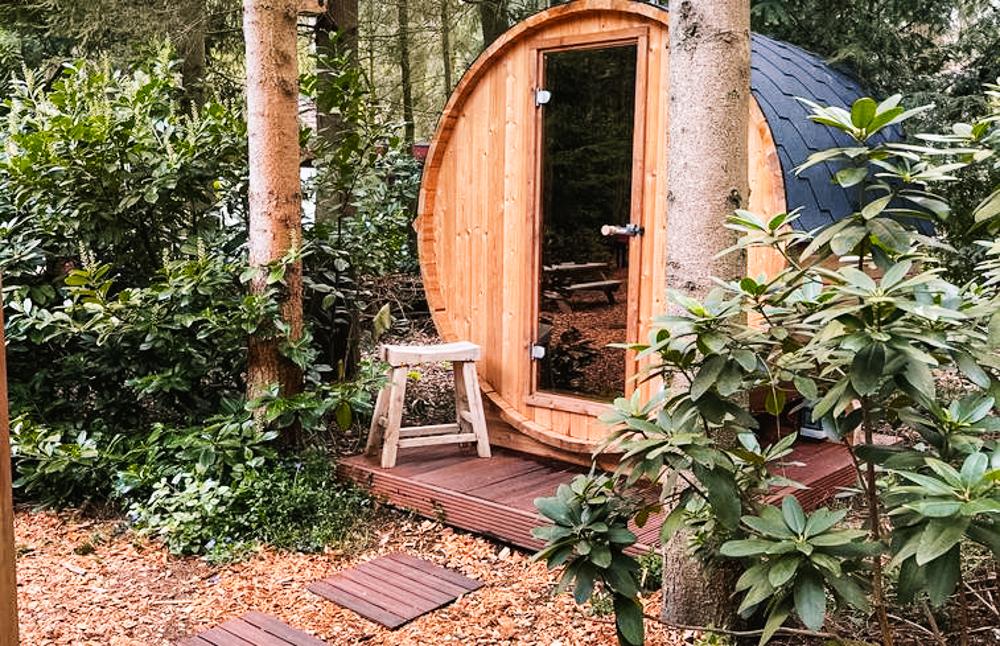 vakantiehuisje met sauna drenthe