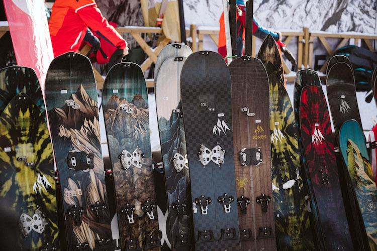 val_thorens kick off 2018 snowboard