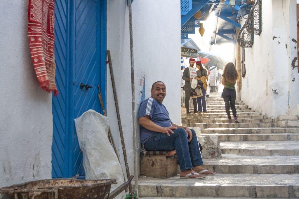 verkoper in tunesie