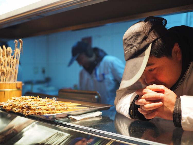 stedentrip beijing verkoper streetfood