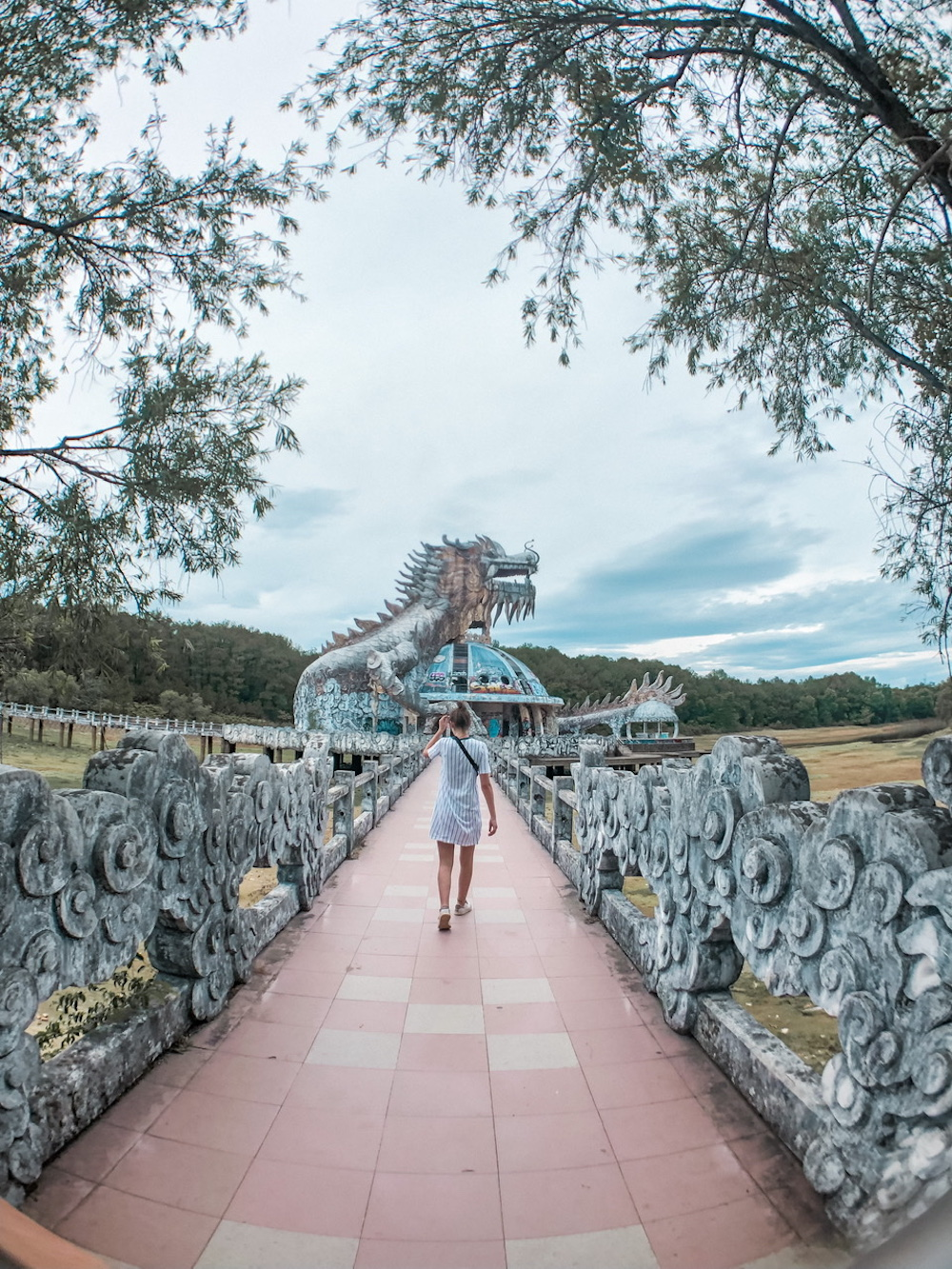 vietnam abandoned waterpark backpack route hue