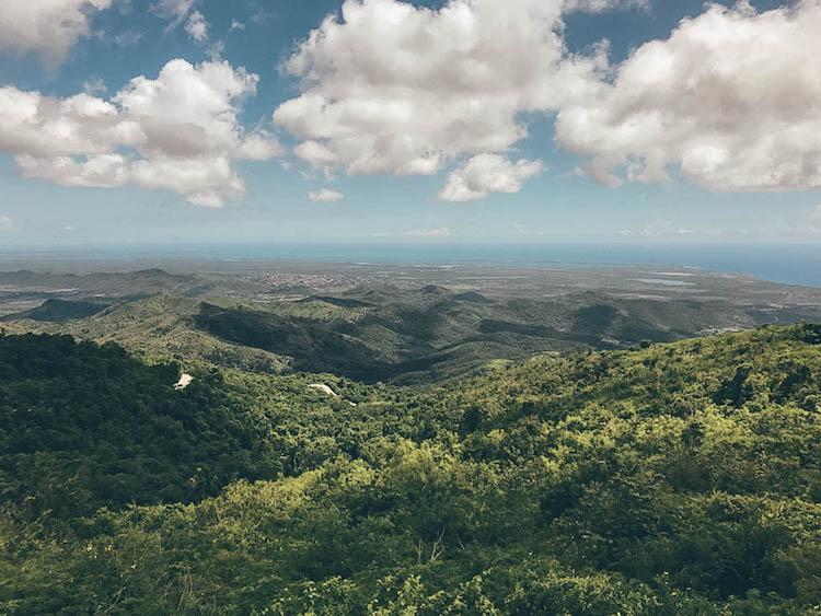 Topes de Collantes viewpoint Vegas Grande Waterfall Trinidad cuba