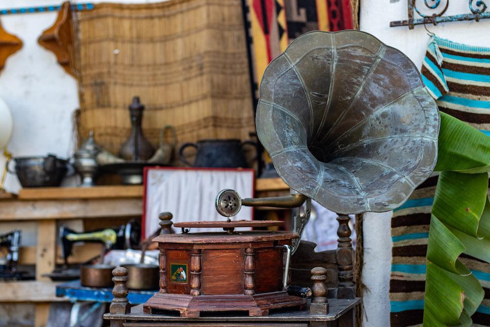 vintage Houmt Souk markt djerba