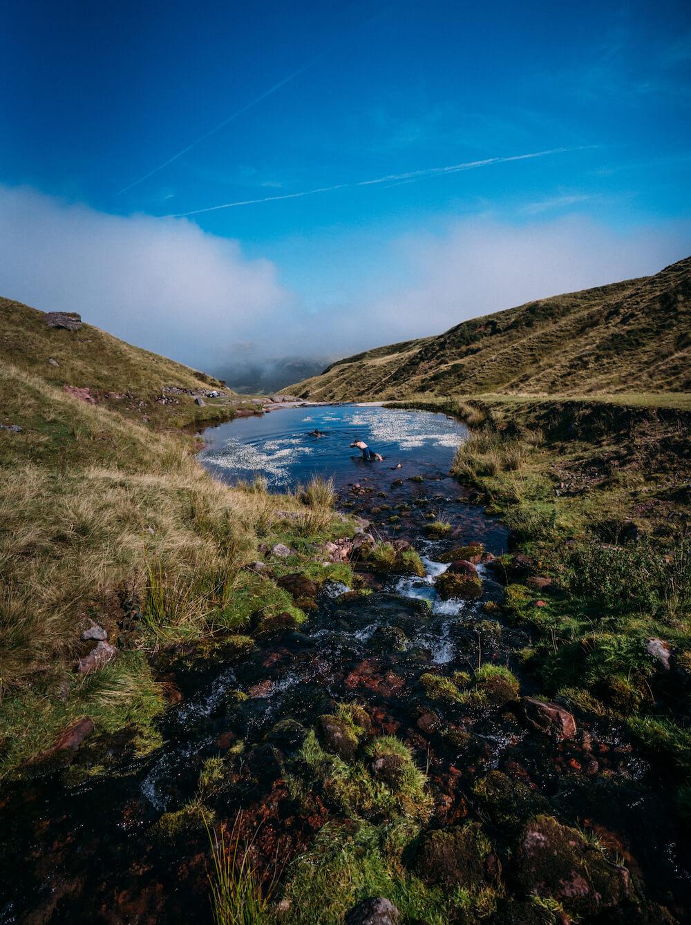 wales ierland Llyn y Fan Fach, Carmarthenshire