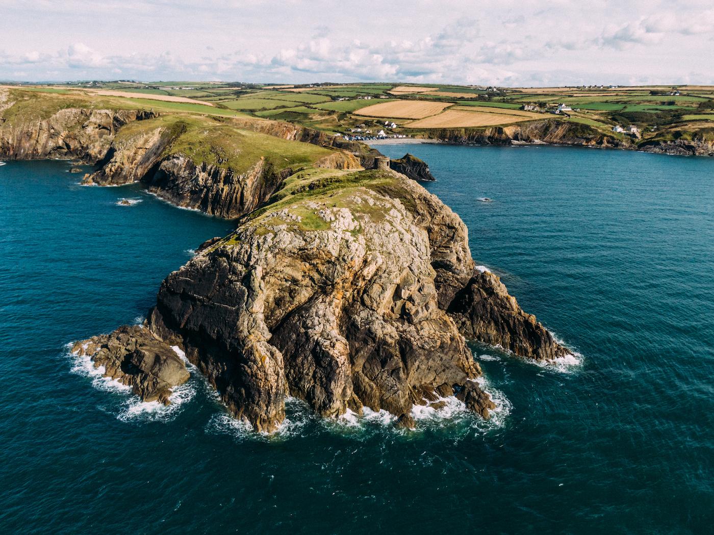 wales ierland keltische kustroute Abereiddy, Pembrokeshire